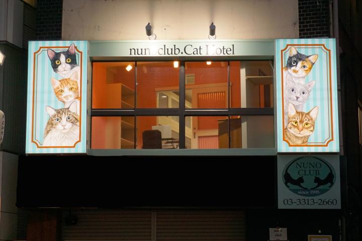 猫専用ペットホテルのヌーノクラブ高円寺店 ケージフリーで猫ちゃんも安心お泊り